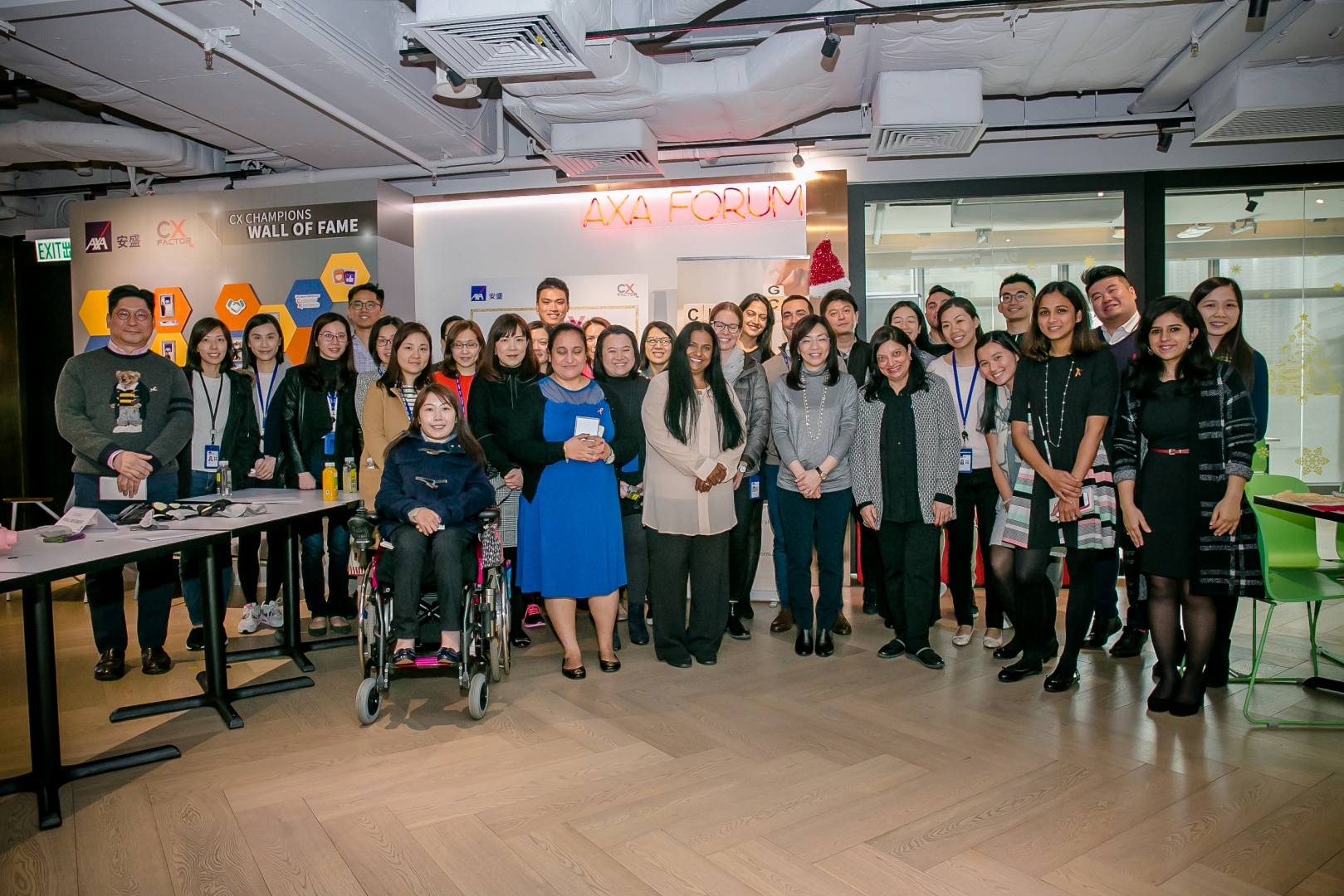 Celebrating disability inclusion at AXA